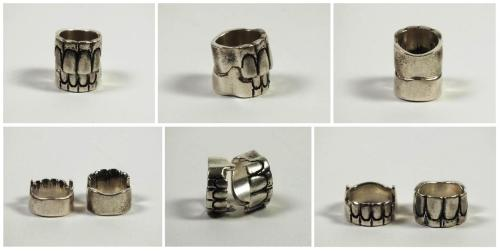 Original Teeth Rings, Bronsin Ablon. 2010.