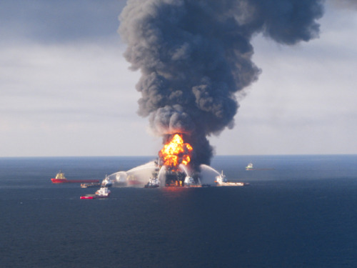 "thepeoplesrecord:  BP admits to 11 counts of manslaughter for 2010 oil spill disaster November 15, 2012 Oil giant BP will fork over the largest criminal penalty in the history of the United States and plead guilty to criminal misconduct, sources report, with more charges possibly forthcoming over the 2010 Deepwater Horizon spill in the Gulf of Mexico. The US Justice Department admitted Thursday afternoon that two BP employees have been indicted with manslaughter for their involvement in the disaster that left 11 workers dead. Meanwhile, BP will pay the US a settlement worth $4.5 billion, including $1.3 in criminal fines, breaking the record for criminal penalties in the country previously held by drug maker Pfizer, who was penalized to the tune of $1.2 billion in 2009. In exchange for the plea and for also admitting guilt to obstructing Congress, BP will reportedly be in the clear from any further prosecution relating to the oil spill, the sources allege. At least two BP employees might not be off the hook themselves, however, possibly facing criminal manslaughter charges for their role The April 20, 2010 explosion at the Deepwater Horizon rig managed by BP not only caused the death of nearly a dozen employees onboard a barge near the Mississippi River, but ravaged the Gulf shore by polluting it with 4.9 million barrels of crude oil in the worst spill ever to happen off of America. Up until that point, the 1989 Exxon Valdez spill was the most severe in US history, having resulted in a comparably meager 750,000 barrels polluting Prince William Sound, Alaska due to a tanker crash. In that case, Exxon settled with the US government for what would be only $1.8 billion by today's standards. Only this past August, the US Justice Department filed pretrial papers revealing that they hoped to charge BP with ""reckless management"" of their Macondo well in what they attested ""constituted gross negligence and willful misconduct."" That matter was expected to end up the focus of a civil trial scheduled for early 2013, although the federal government has not yet delivered them with criminal charges. ""We do not use words like 'gross negligence' and 'willful misconduct' lightly,"" a Justice Department attorney wrote in papers. ""But the fact remains that people died, many suffered injuries to their livelihood, and the Gulf's complex ecosystem was harmed as a result of BP and Transocean's bad acts or omissions."" While this week's deal is believed to relieve BP from further prosecutions, sources say the civil charges already brought up by the Justice Department will remain intact. According to the Associated Press, BP acknowledged before Thursday's plea that the proposed settlement ""would not include civil claims under the Clean Water Act and other legislation, pending private civil claims and state claims for economic loss."" Other claims as well against BP exist, the AP notes, from banks, businesses and local governments who want compensation for losses caused by a mandated moratorium on drilling announced after the spill, none of which are covered by BP's proposed settlement with private attorneys. BP has previously estimated that it will spend an additional $7.8 billion or so to settle class-action claims from private plaintiffs including over 100,000 individuals and businesses impacted by the disaster. Source"