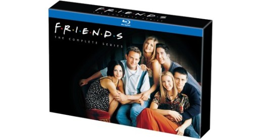 Friends: The Complete Series NBC's signature Must See TV sitcom was the kind of pop culture phenom that every half-hour comedy in the '90s aspired to be. The good news is that the show still holds up pretty well today, even if the later seasons lack the comic consistency of the first few years. For Friends's Blu-ray debut, Warner Bros. has remastered all 236 episodes as they originally aired in high-definition and helpfully housed the set's 21 discs (which include four hours-worth of bonus features) in a hardcover book with photos and an episode guide. A set like this guarantees that Friends will always be there for you.Price: $279.98 Read more: Holiday Gift Guide 2012: Best TV on DVD and Blu-ray