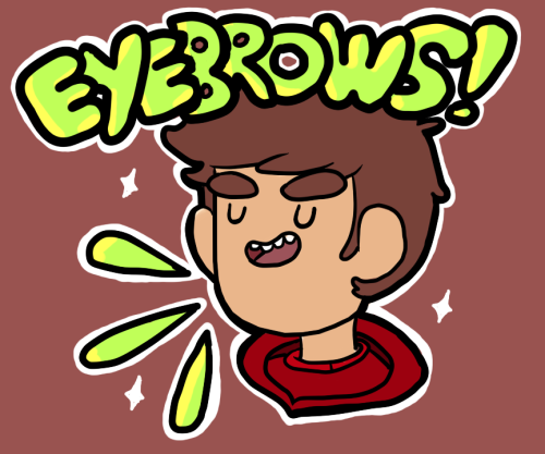 bravestwarriors:   aww yeah. danny has some fantastic eyebrows,yo.  Danny does have some nice lookin' brows. Keep the Bravest Warriors fan art rolling in! The Emotion Lord is this week's theme for Fan Art Friday, so get your fan art in by Friday, noon (EST) Submit your fan art now! Thanks Yugo for the great looking Danny fan art!
