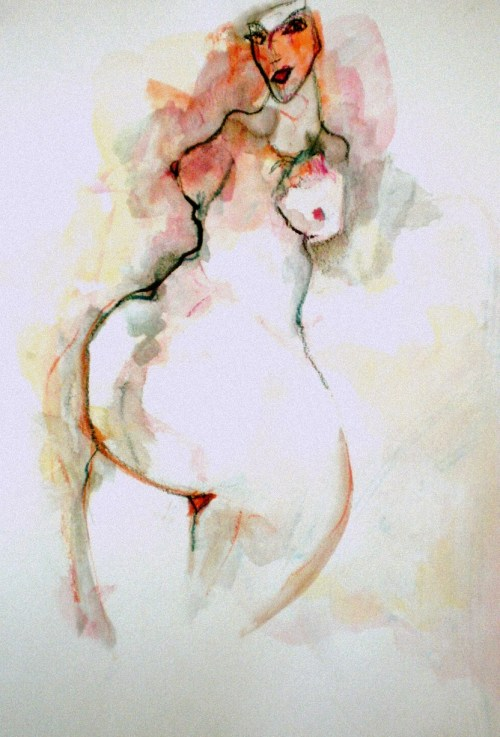 Art by Colette Standish Awash in Bodies: Work on Paper by Colette Standish and Jos Truitt gallery opening at the Center for Sex and Culture December 7th