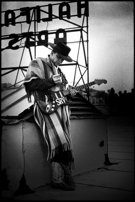 tekena:  Stevie Ray Vaughan