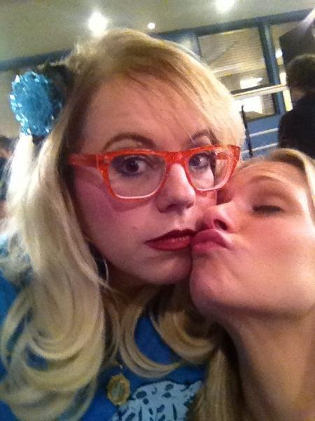 @Vangsness: Don't be jelly @nathanandy Quote provided by @ajcookofficial 2:41pm PST