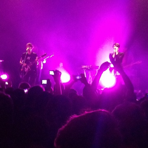 Tegan & Sara @ HMV Forum London (at HMV Forum)