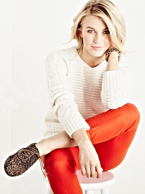 Actress Julianne Hough lands her first fashion collaboration. Get the insider scoop here »