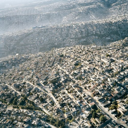 densecity:  Slums in Mexico City - great example of unplanned outward growth
