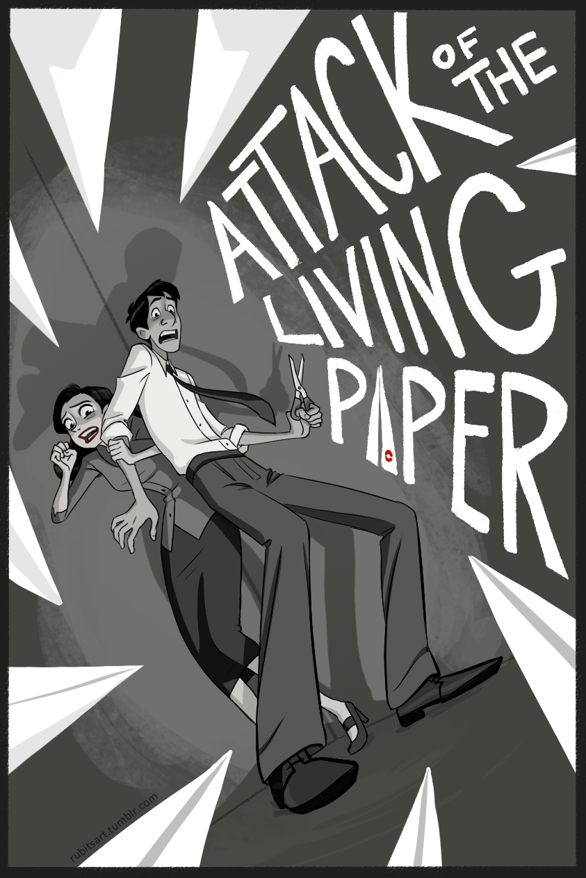 I keep seeing comments from people saying they wish Paperman was a feature length film so here's one way that could work…