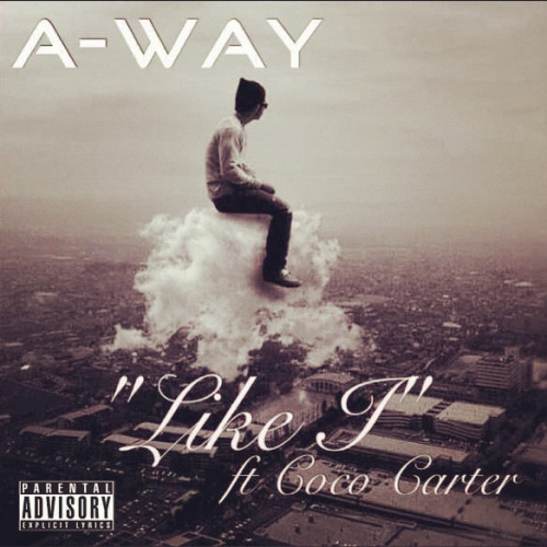 "Click the pic to checkout @A_WayOfficial  jt ""Like I"" ft @coco_carter off the album Hate & Handshakes dropping 12/27/12 via iTunes!"