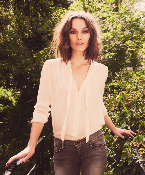 Keira Knightley | photographed by Greg Williams (2012)