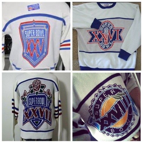 callmeonthebillsphone:  Four #SuperBowl's worth of #cliffengle sweaters #callmeonthebillsphone #buffalobills #billsmafia (at callmeonthebillsphone.com)
