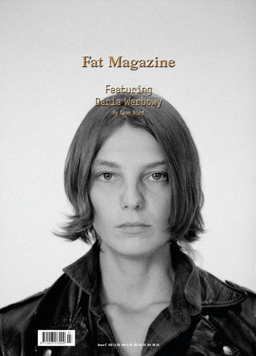 cassbird:  Cass Bird vs. Daria Werbowy Fat Magazine    perfect model/photographer duo ever