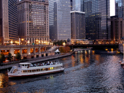 somedayillseetheworld:  Chicago, Illinois, USA (by Jack Amick)