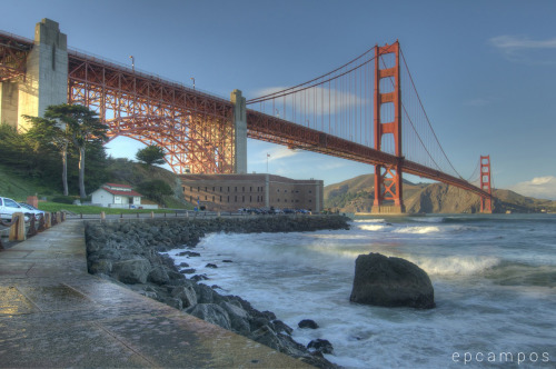 travelthisworld:  Golden Gate Bridge, San Francisco, CA submitted by: ikeymikey, thanks!