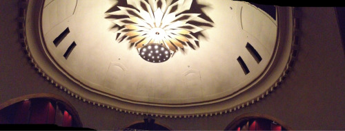 The Rockwell Dome and its beautiful chandelier.