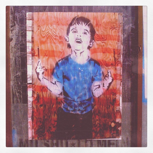 #streetart #wheatpaste #hollywood