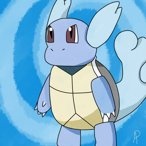 theartofcosplay:  A Wartortle that was done as a Kiriban prize on my Deviantart. ~Ambur Please follow our Art and Cosplay Progression blog for tips and tricks!   I drew this aww yeah