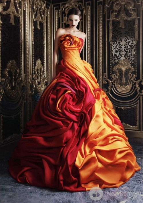 Austrian Draped Couture (via londonwarrior)