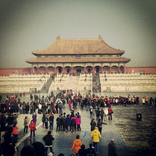 Forbidden City, the Temple of Supreme Harmony