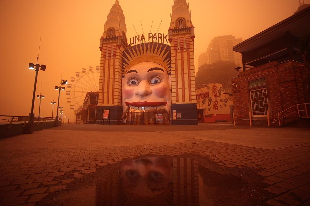 Red Dust Haze over Sydney @ ShockBlast