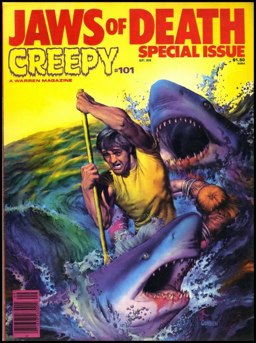(via Fantasy Ink: Jaws of Death!) Richard Corben - Creepy #101, September 1978.