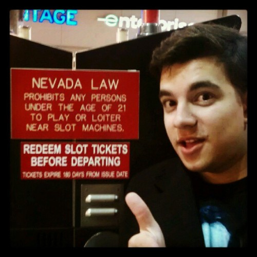 We've landed! (at McCarran Rent-A-Car Center)