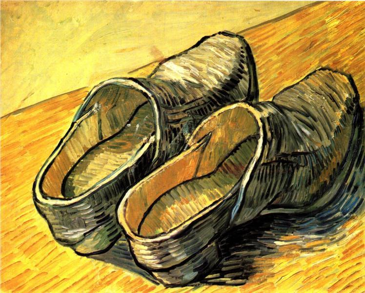 surrealappeal:  Vincent van Gogh, A Pair of Leather Clogs, 1888.