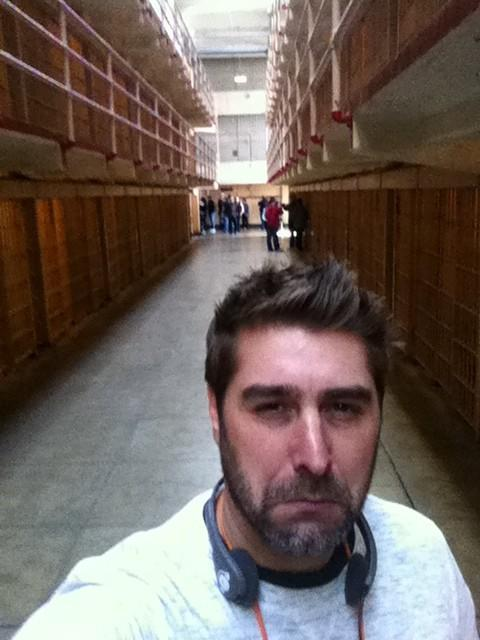 "fyeahtorybelleci:  ""Walking down Broadway in #Alcatraz. It's creepy in here. #TheRock"" ~ Tory's Twitter"