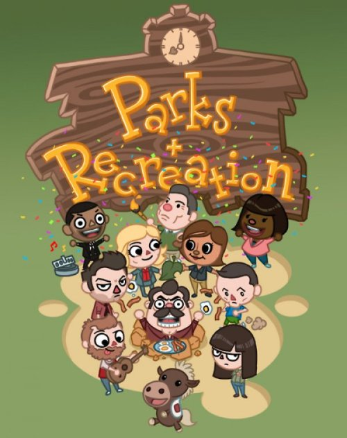 dorkly:  Parks & Recreation Crossing Bring me all the eggs and bacon you have. I'm Ron Fucking Resetti.