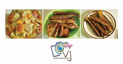 Today's lunch feast: Fried Fish, Fried Talong with Cucumber and Salted Egg Salad. Limot ko ang kahit ano pa mang susyalang kainan kung heto ang nakahain sa hapag-kainan. Simple at fulfilling, my food for the soul. 06 Oct 2012