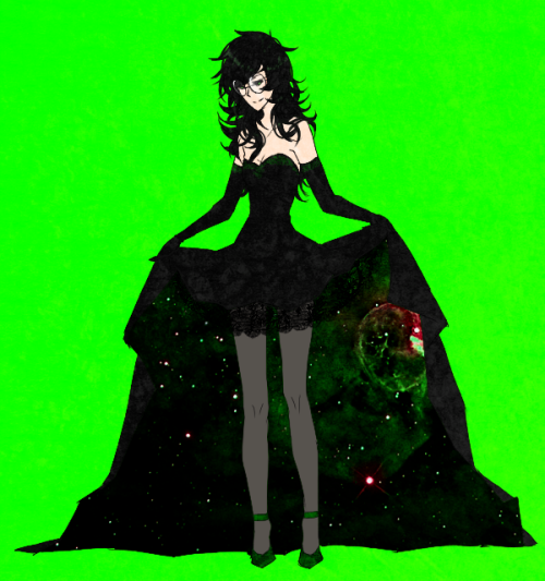vonnabeee:   Space Dress   and thank you drunk anon, im gonna assume this is a comPLIMENT LOL CUZ I HAHAHA IC ANT — GH anyways thank you so much for being so sweet ;w; even when u can barely type