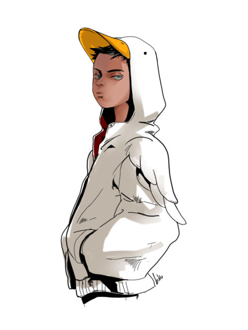 thesidekickcomplex:  Damian Wayne by buku2