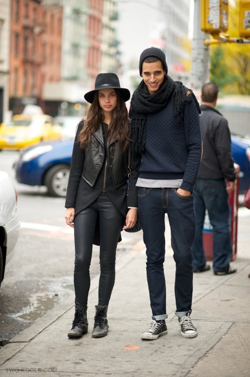 the-street-blog:  Sara Sampaio& Luís Borges