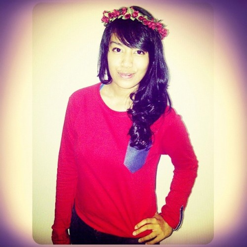 Another red ❤❤❤ #instagram #instagood #crown #girl #indonesia