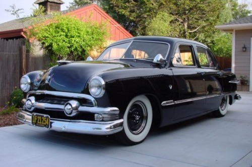 rodandcustomshow:  Clean 1951 Ford Custom Deluxe Ford