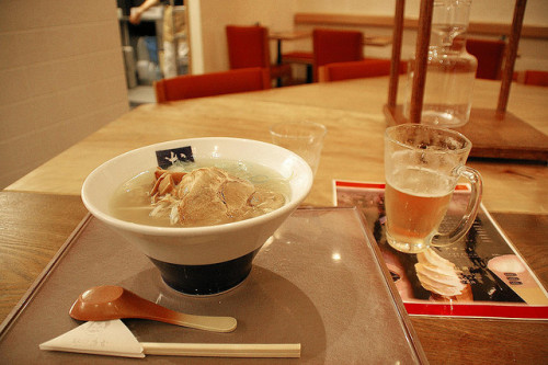 20080430_Hakodate Aireport Ramen with Beer by 4563_pic on Flickr.