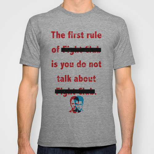 1st Rule Tee… Available on Society6.com