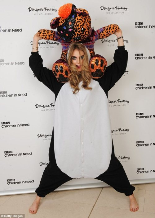 suicideblonde:  Cara Delevingne at the Childern in Need Auction at Christie's in London, November 16th