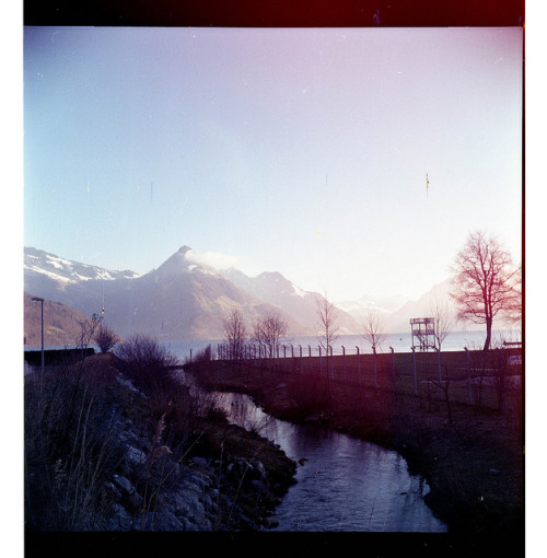 Landscape on Flickr.LOMO LUBITEL 166U - LOMOGRAPHY CN 100: Besides the Dirt on the Film, this is one of my favorite Landscapes I have shot this year.