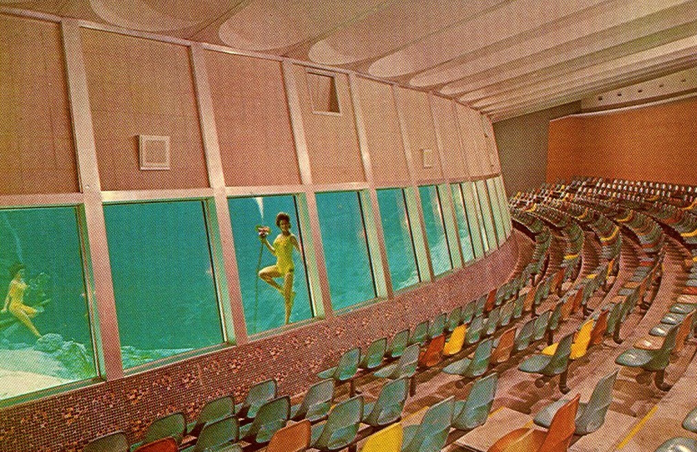 Underwater Aqua Theater 1960s Weeki Wachee, Florida