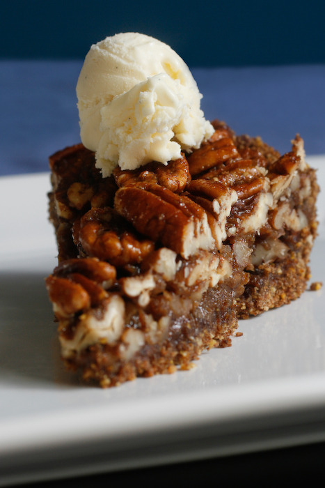 reblogged from vegansaurus:  Vegan Maple Pecan Pie, WHY ARE YOU LOOKING AT ME LIKE THAT?! Stop undressing me with your delicious little pecan eyes, this is not how it's going to go down! OK, maybe it is. Let's do this.