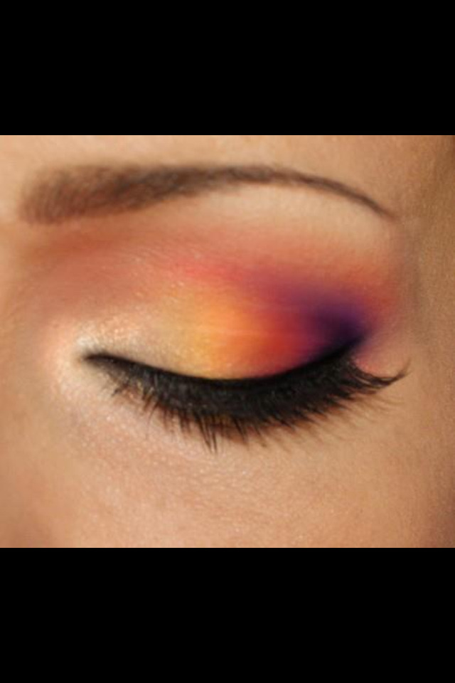 eye makeup , colour me