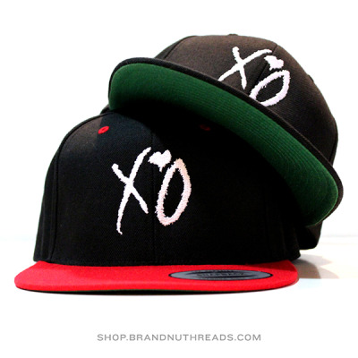 TheWeeknd - XO SnapbackGet yours at our new relocated shophttp://shop.brandnuthreads.com
