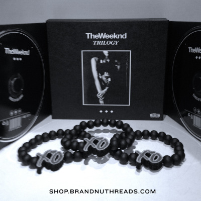 Go cop The Weeknd's TRILOGY! The XO bracelets are now available only at our limited edition shop…http://shop.brandnuthreads.comhttp://shop.brandnuthreads.comhttp://shop.brandnuthreads.com