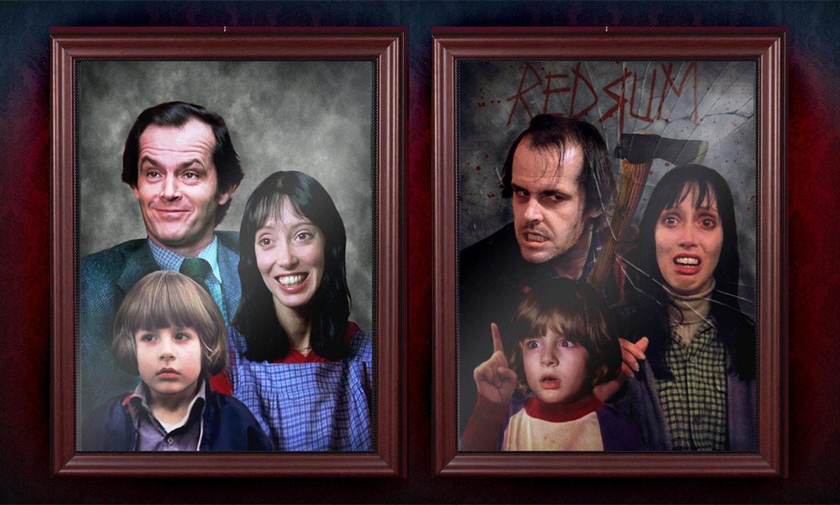 (via The Torrance Family Portrait. by ~smalltownhero on deviantART)