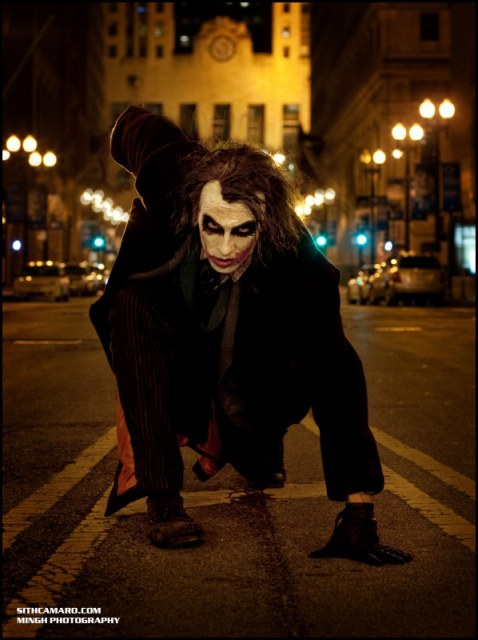 JOKER COSPLAYMovie: The Dark Knight