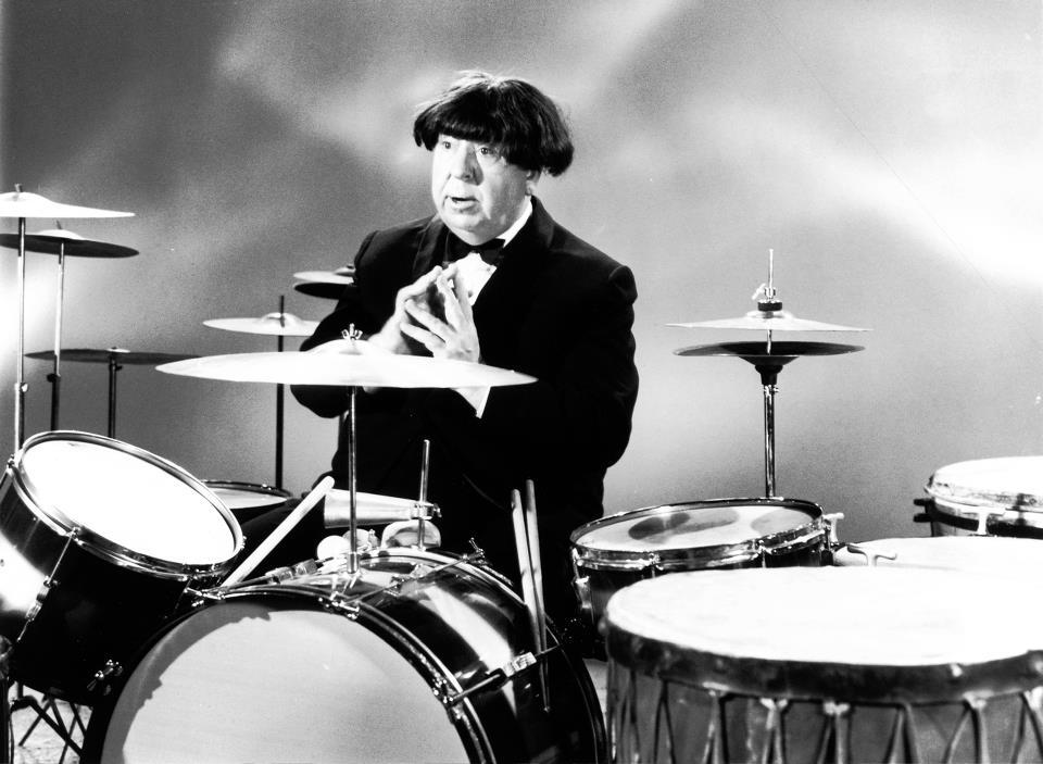 Hitchcock dressed as Ringo