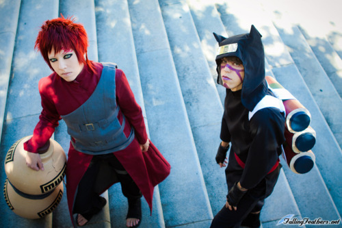GAARA AND KANKURO Anime: Naruto Shippuden