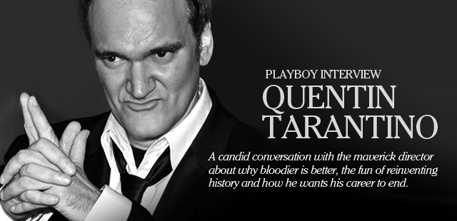 When PLAYBOY interviewed Quentin Tarantino in 2003, it had been six years since the release of Jackie Brown, and as he prepared for the release of Kill Bill, the question loomed: Could Tarantino, who had broken all the rules, changed the crime genre with Reservoir Dogs and the Oscar-winning Pulp Fiction and spawned a legion of imitators, keep it up? Playboy Interview: Quentin Tarantino by Michael Fleming, November 15, 2012  Playboy Interview: Quentin #Tarantino, November 15, 2012 cinephilearchive.tumblr.com/post/358405031… via/HT @emmafgreen #filmmaking — LaFamiliaFilm (@LaFamiliaFilm) November 16, 2012