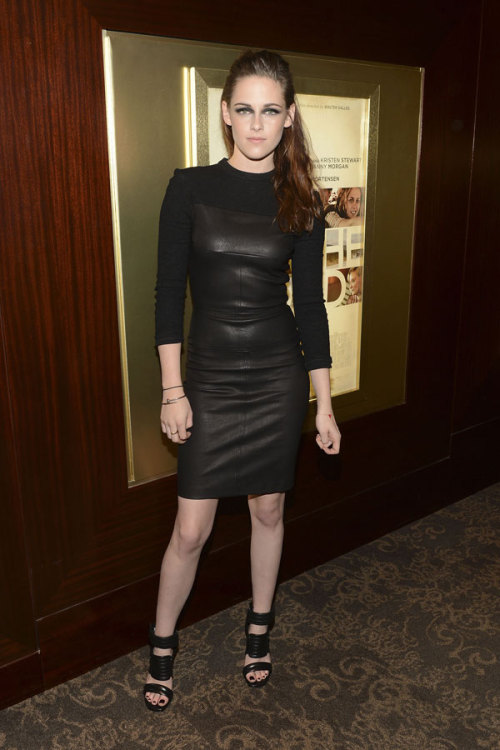 Kristen Stewart is one of our best-dressed celebs of the week in an edgy leather LBD by A.L.C. Check out the rest of the stars who topped our list »