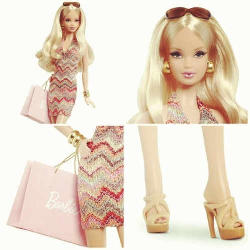 Oh my oh my oh my! Is that a @barbie in a #Missoni? !! @mmmargherita #barbie @barbiecollctor #doll #style #fashion #barbieforever #ss13